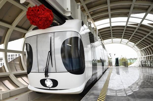 Çin Hava Treni Projesini Tamamladı! galerisi resim 1