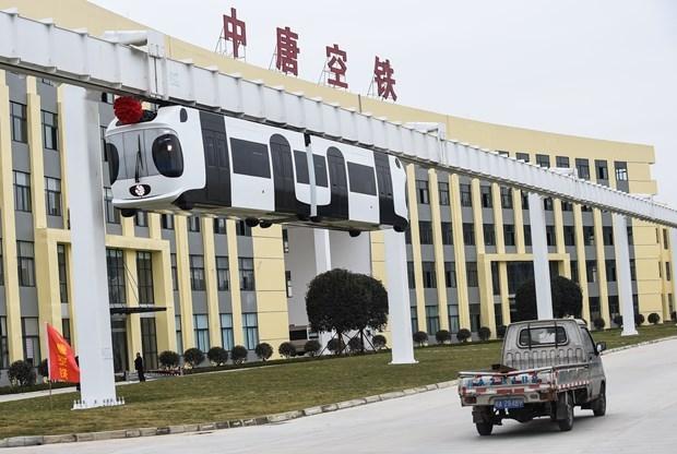 Çin Hava Treni Projesini Tamamladı! galerisi resim 5
