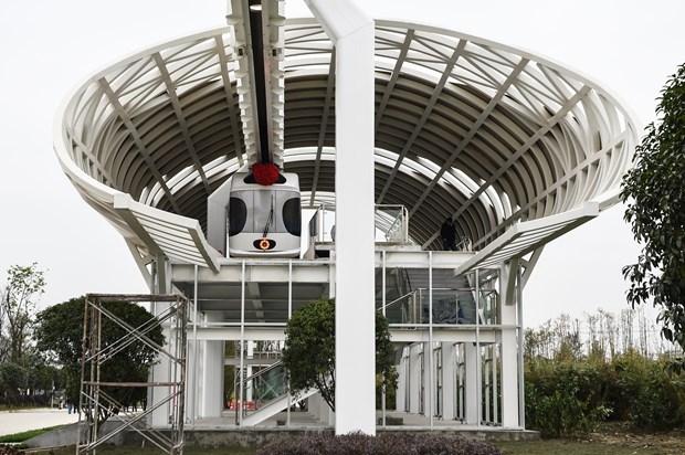 Çin Hava Treni Projesini Tamamladı! galerisi resim 7