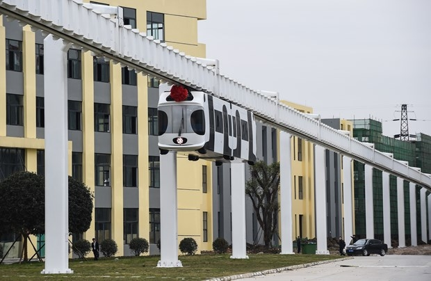 Çin Hava Treni Projesini Tamamladı! galerisi resim 8