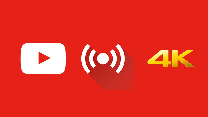 Youtube 4K Kalitesinde Canlı Yayınına Başladı
