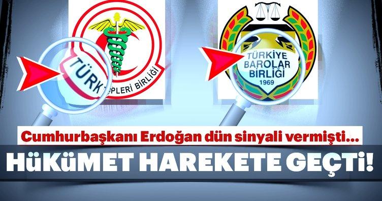 O kuruluşların isimlerinden 'Türk' ibaresi çıkıyor