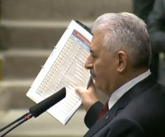 Yıldırım 'belgelerle geldim' dedi ve canlı yayında açıkladı!
