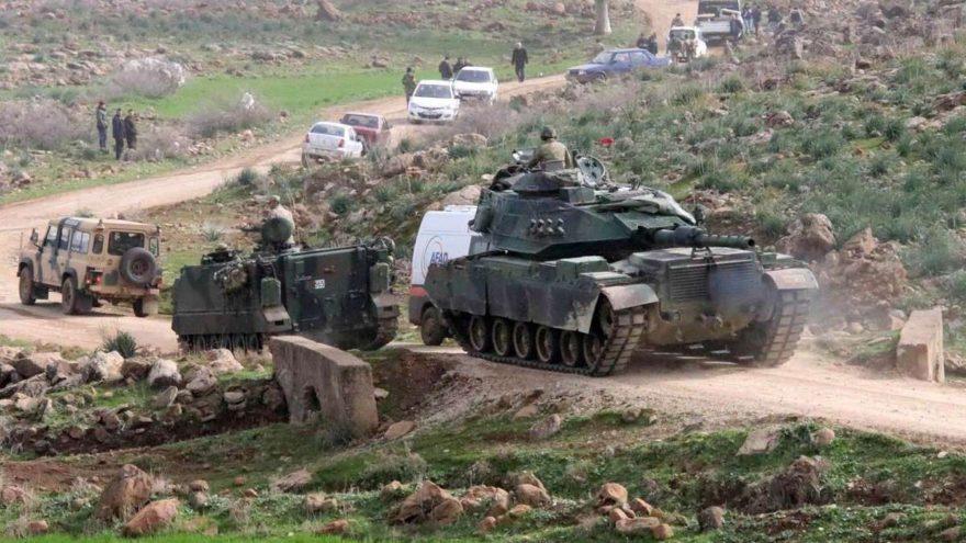 Yardım konvoyu Afrin'e gidiyor