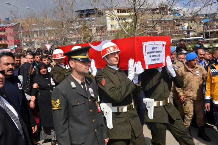 Uzman Çavuş'u Kahramanmaraş'ta 10 bin kişi uğurladı