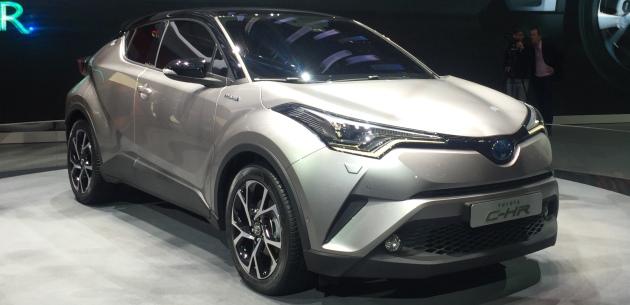 Hibrit Motoruyla Toyota C-HR Özellik ve Bilgileri