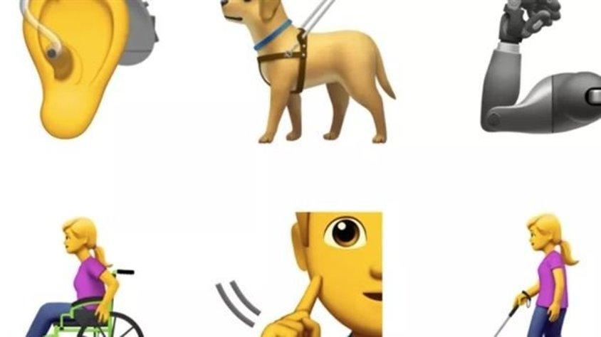 Engelli bireyler için 13 yeni emoji