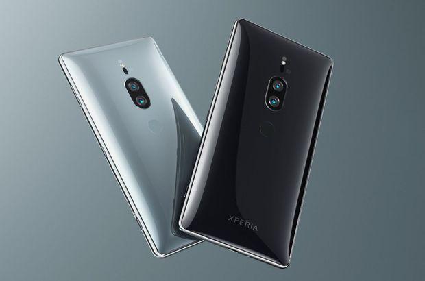 Xperia XZ2 Premium'u tanıttı