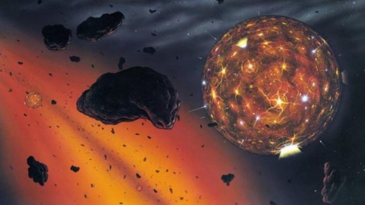 Elmas meteoru 'yok olmuş bir gezegene ait'