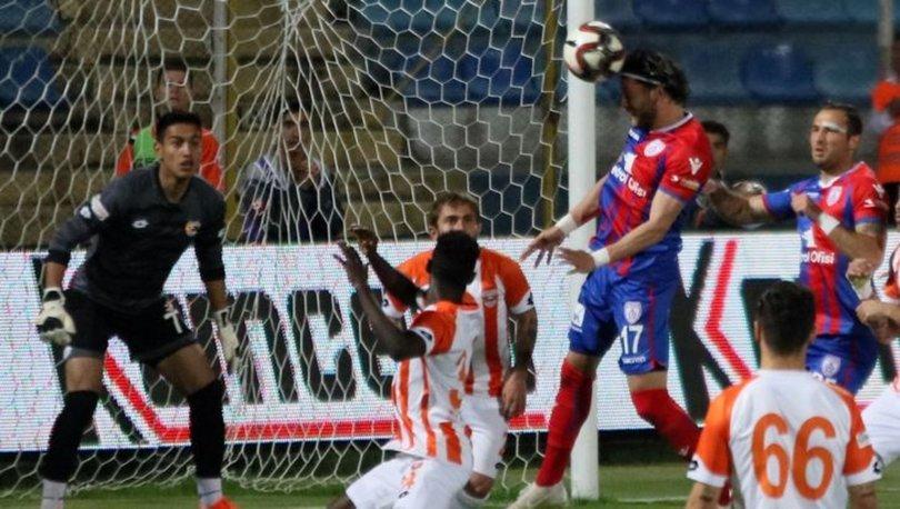 Altınordu-Adanaspor Maç Sonucu: 2-1