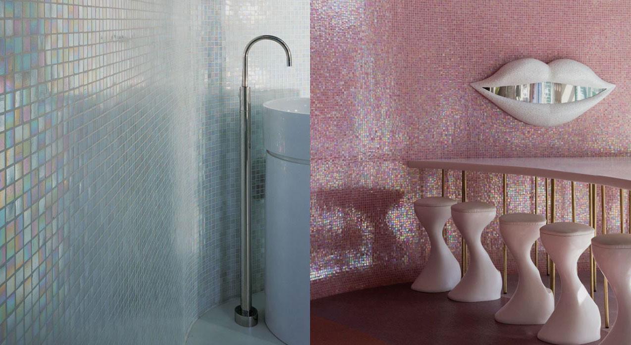 Havuzlarınız için kendini temizleyen Mozaik