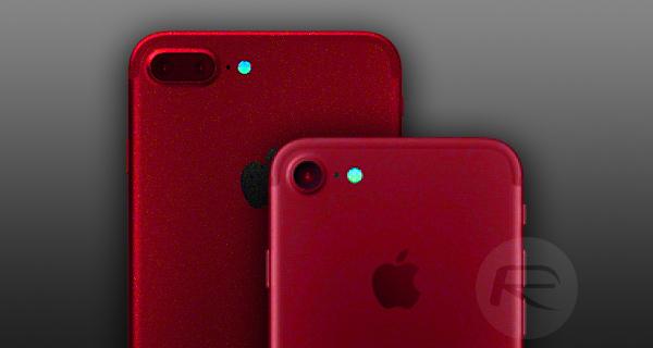 Apple iPhone 7S Kırmızı Renk Seçeneğiyle Geliyor