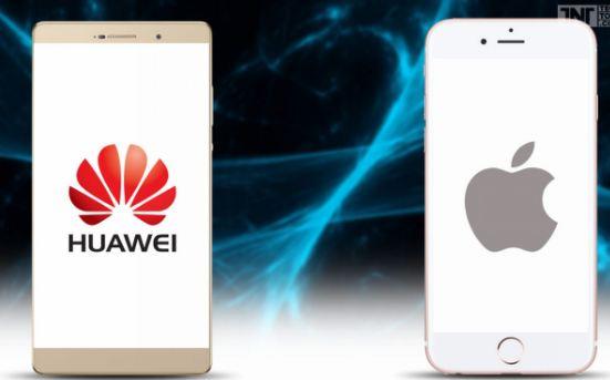 Huawei'nin Gelecek Hedefi Apple'ın Tahtı!