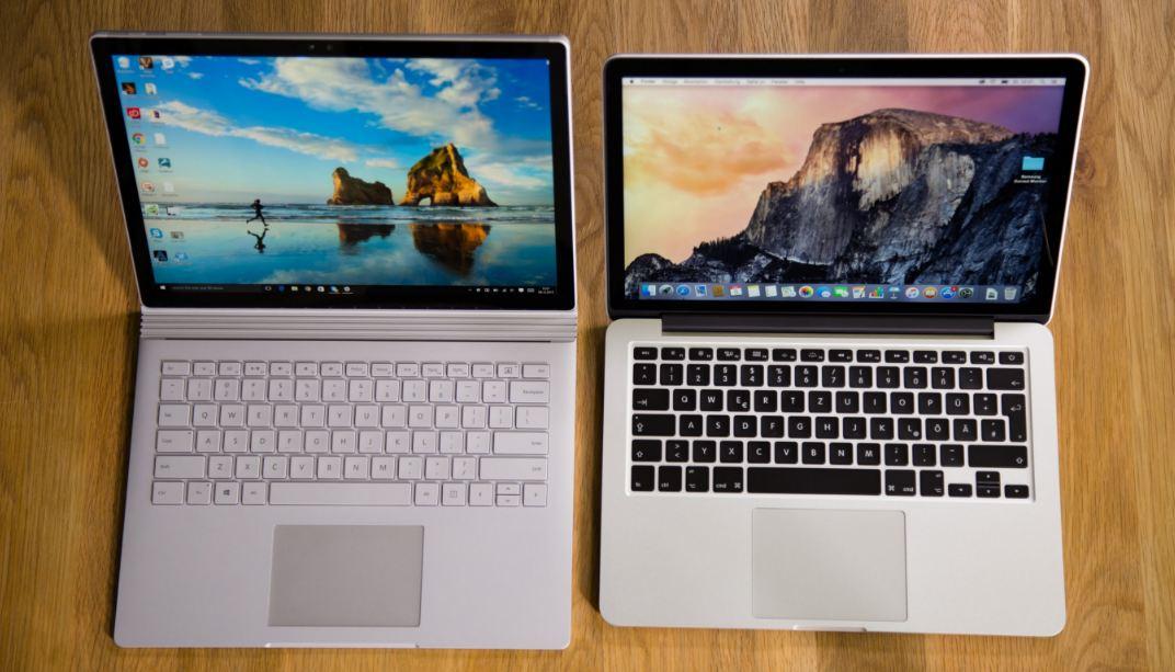 MacBook Pro Kullanıcıları Surface Modeline Yöneliyor