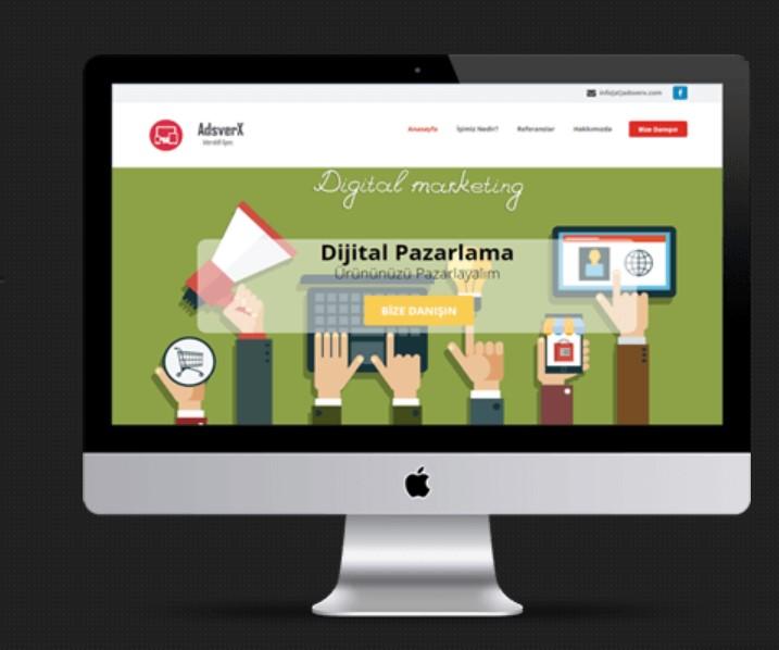 Kurumsal Web Tasarım Buton ve Arayüzleri