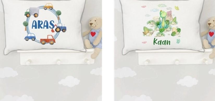 Bebek Takı Yastığı Modelleri Tuğba Kuğu'da!