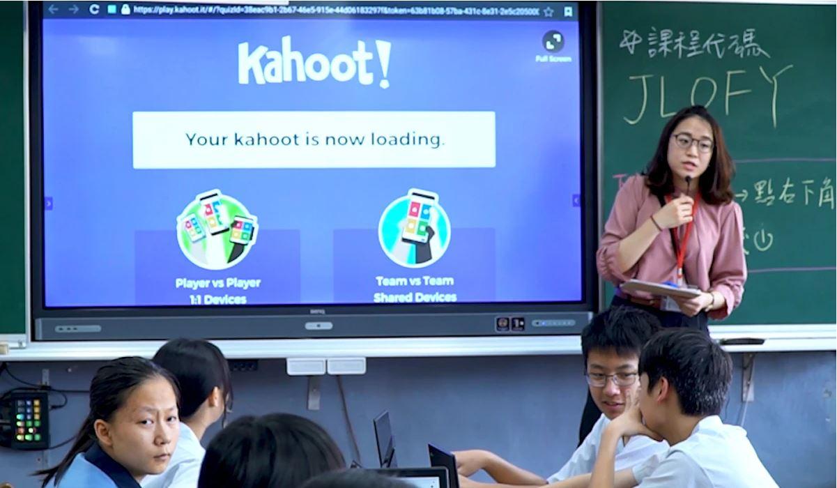 BenQ, Dünya Çapındaki Okullarda Etkileşimi Geliştirmek için BenQ İnteraktif Ekranlarda kullanılacak Kahoot! Uygulamasının Yeni Entegrasyonun Duyurdu