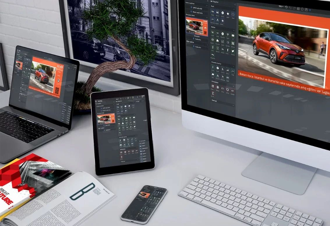 Artık Her Alanda Var Olan Dijital Ekranlar!