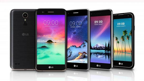 LG yeni K10,K8,K4,K3 ve Stylus 3 cihazlarını duyurdu!