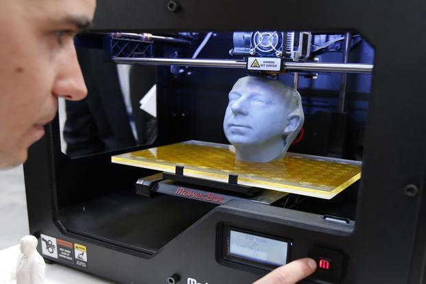 3D Yazıcı Teknolojisi İle Titanyum Alın Kemiği Yapıldı