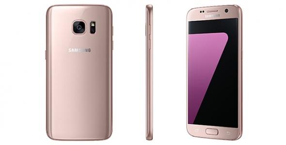 Samsung Galaxy S7 Edge Pembe rengi satışa çıktı!
