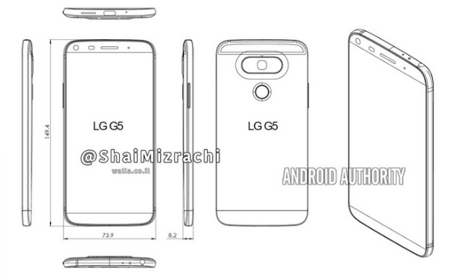 LG G6 Render Görüntüleri ve Özellikleri Sızdırıldı! (27.12.2016)