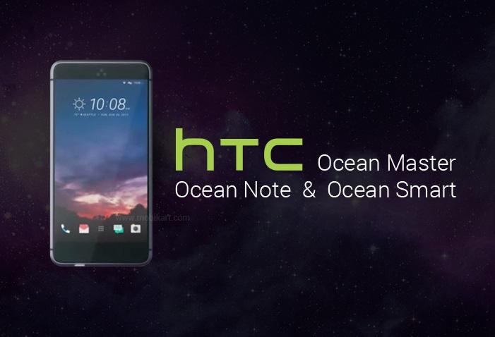 HTC'den üç yeni cihaz: Ocean Master,Ocean NoteveOcean Smart