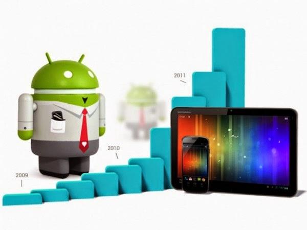 Android Cihazların Sayısı Gün Geçtikçe Artıyor!