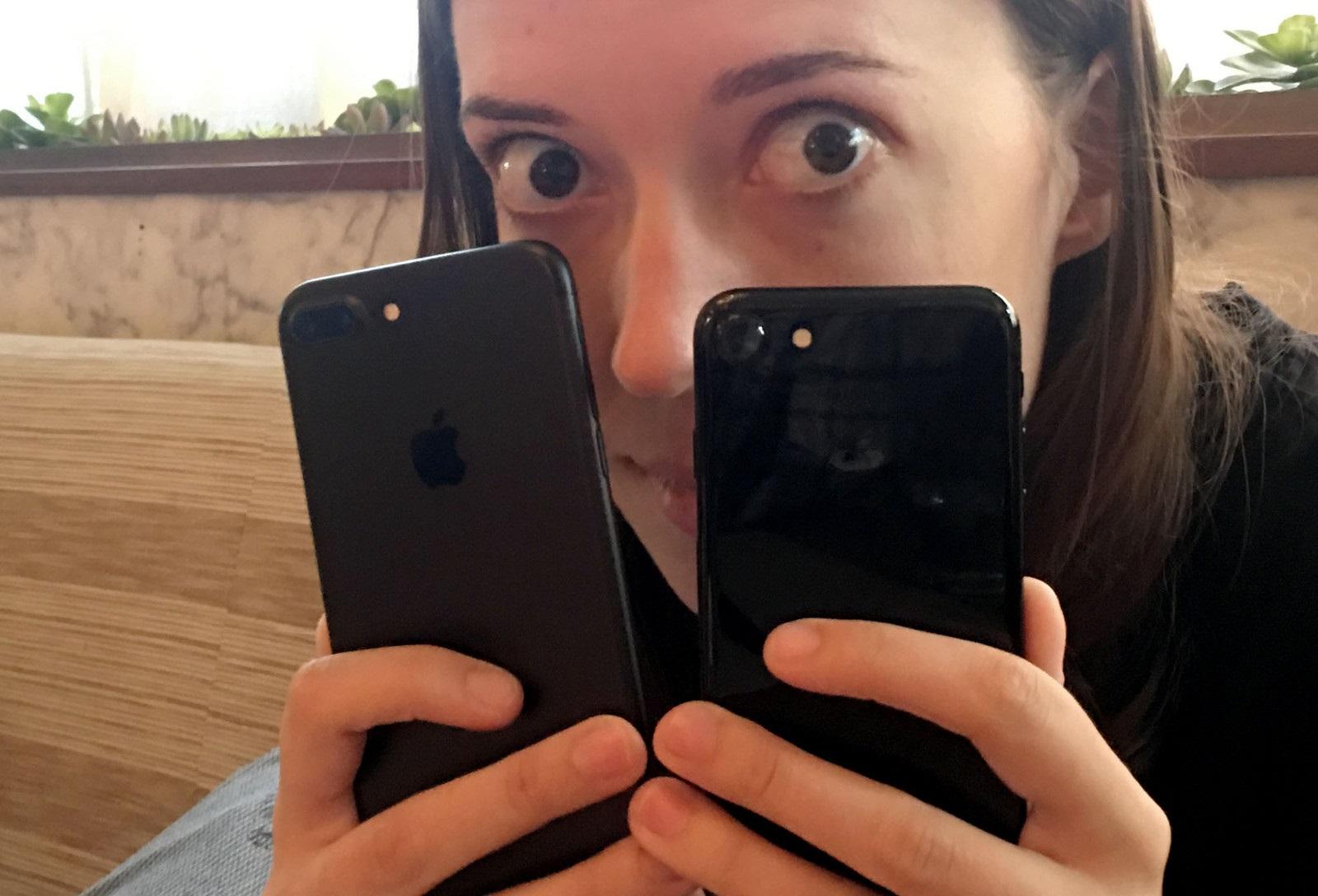 Jet Black iPhone 7 Plus Kılıfsız Kullanım Sonucu Tanınmayacak Hale Geldi!