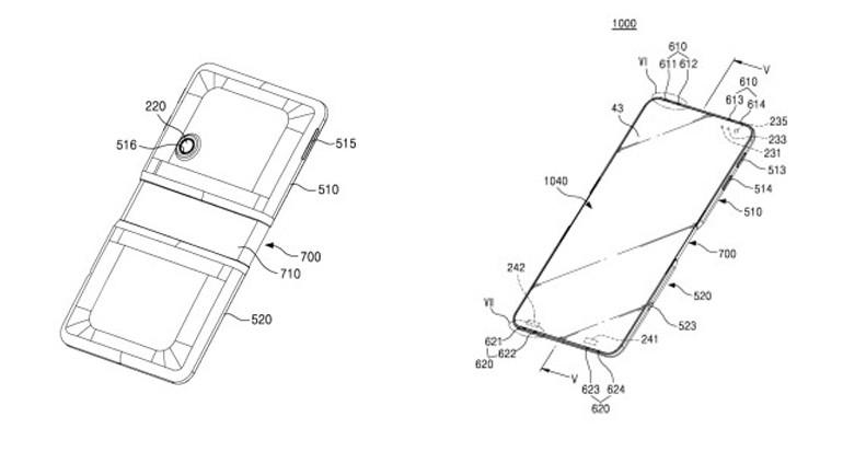 Samsung'dan yeni bir patent başvurusu daha!