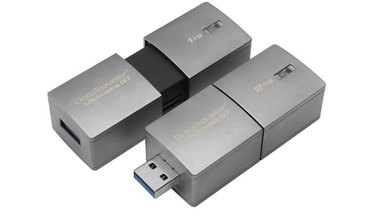 Kingston 2TB'lık MİNİK USB Belleğini Tanıttı,