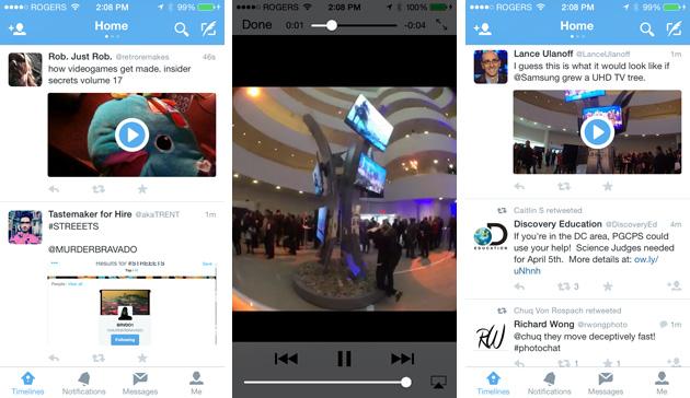 Artık Twitter Mobil'de yüksek kalite video izlenebilecek!