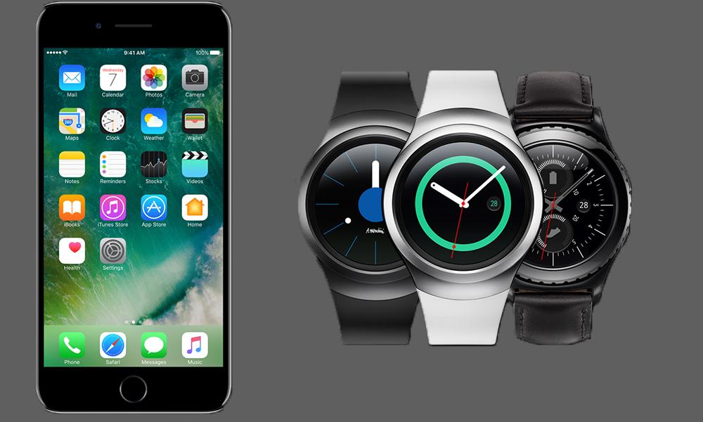 Samsung Gear S3, Gear S2 ve Gear Fit2, iPhone'larda çalışacak!