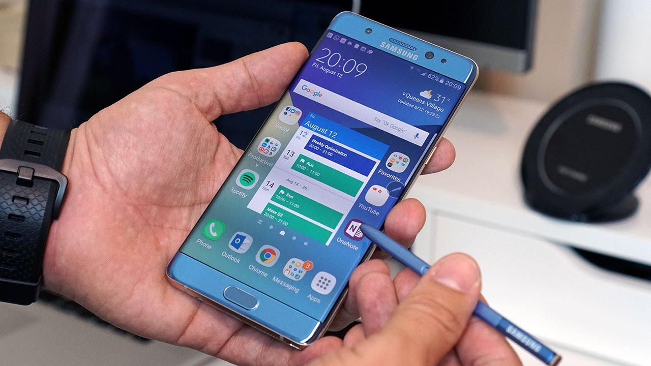 Galaxy Note 7 için yeni bir açıklama daha geldi!