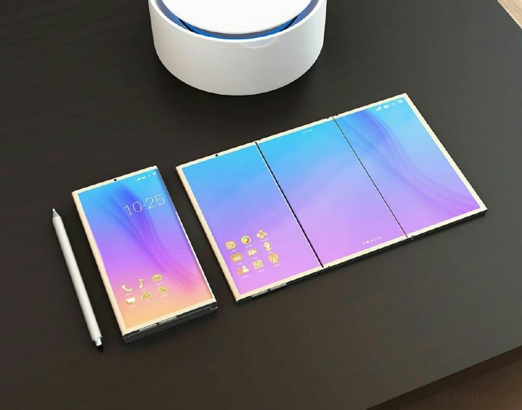 Samsung'un Katlanabilir Telefonuna Ait Render Görüntüleri Ortaya Çıktı!