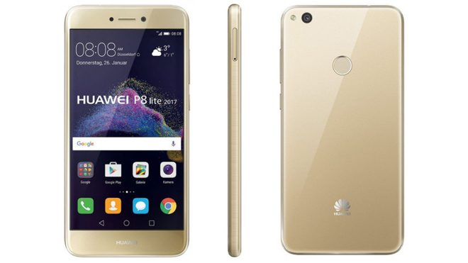 Huawei P8 Lite (2017) 3GB RAM ve 3.000mAh batarya ile geliyor!