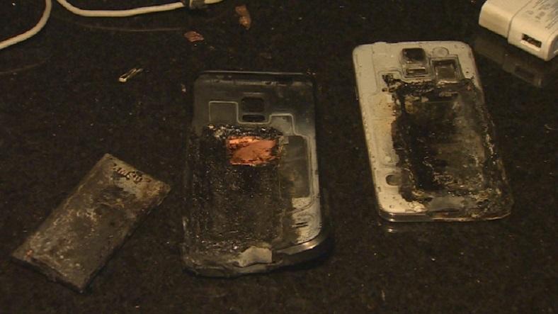 Galaxy S5 havai fişek gibi patladı, Yangına neden oldu!