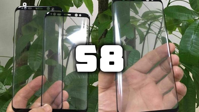 Galaxy S8'in ekranı olduğu iddia edilen görüntüler ve tüm detaylar!