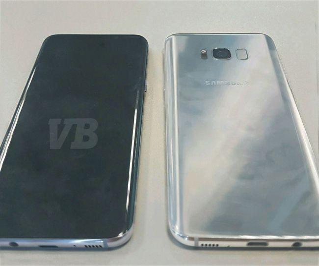 Galaxy S8'in fotoğrafları bir kez daha sızdırıldı, Ana ekran tuşu arkada olabilir