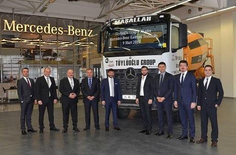 Mercedes-Benz Arocs inşaat sektörüne güç katıyor