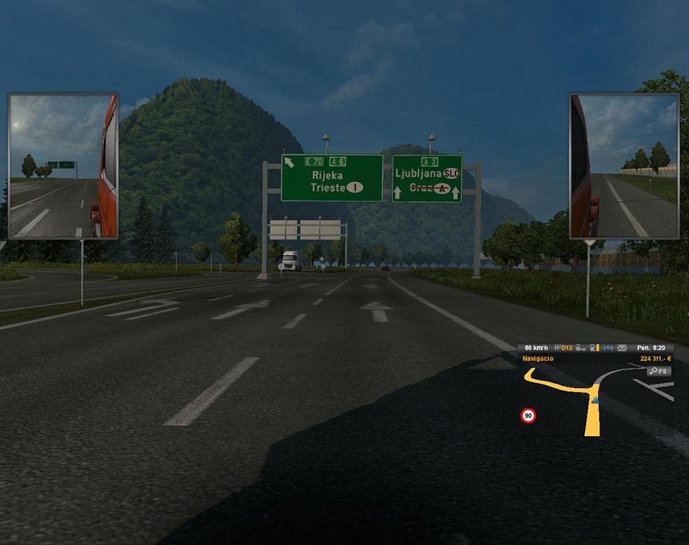 Euro Truck Simulator 2 Oyunu İtalya'nın Yollarına Gidiyor