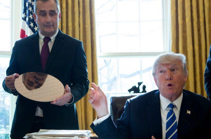 Intel Şirketinin CEO'sundan Trump'a Büyük Bir Rest