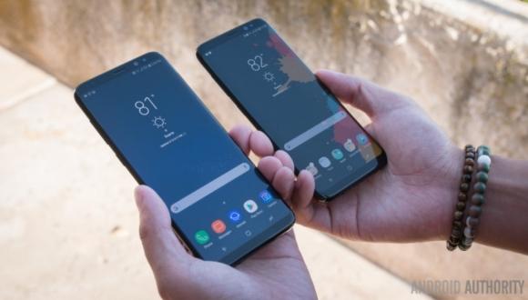 Galaxy S8 Plus Modeline Günceleme Geldi