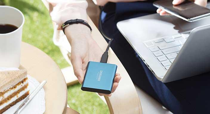 Samsung Şirketinden Yüksek Bir Performansa Sahip SSD T5 Modeli