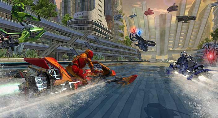 Riptide GP2 Oyununun Mobil Platformlarda Bedava Olduğu Duyuruldu