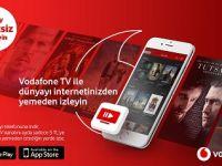 VODAFONE TV, İNTERNETİNDEN YEMEYEN ZENGİN İÇERİKLERLE YENİLENDİ
