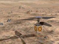 Mars'a helikopter gönderiyor