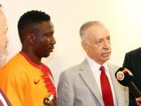 Galatasaray Başkanı Mustafa Cengiz'den: Etebo'nun Savaşçı karakteri var.