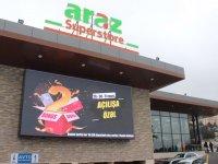 Araz Supermarket Yerli Ürünlerle Ön Planda