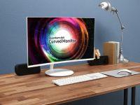 Samsung'un Yeni Kavisli Monitörü Input Lag Derdini Çözecek!